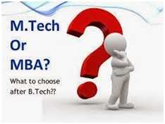 mtech-or-mba