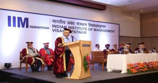 47 Students of Two year MBA PGP in Management Graduated in the First Convocation of IIM Visakhapatnam