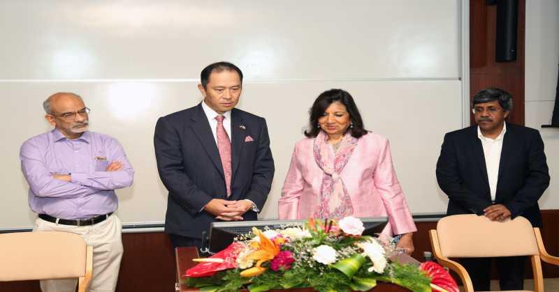 IIMB Sets up Case Recording Lab to Advance Digital Learning MOOC Kiran Mazumdar shaw