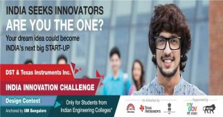 Texas Instruments Launches 'India Innovation Challenge Design Contest (IICDC) 2017 with IIM Bangalore, NSRCEL, DST and MyGov