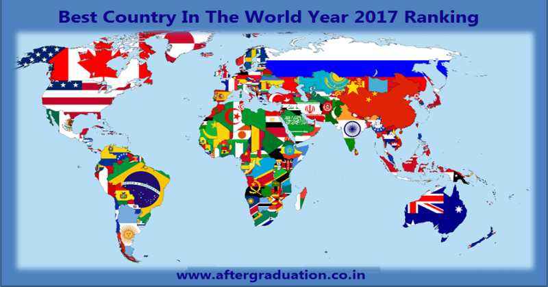 Best Countries in World Ranking 2017; Switzerland Tops, India Drops to 25th Rank in the latest survey report by US News