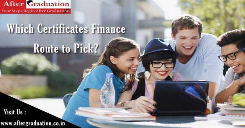 Finance Certificate Courses For Better Finance Career Opportunities in commerce