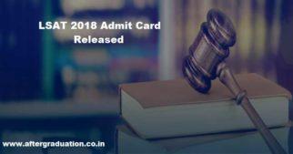 LSAT 2018 Admit Card, Syllabus, Exam Pattern, Admission Procedure, Law Entrance Exam detail