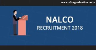 NALCO Recruitment 2018 for Graduate Engineers through GATE 2018 score for different engineering branches