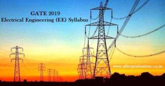 GATE 2019 Electrical Engineering Syllabus and EE Exam Pattern