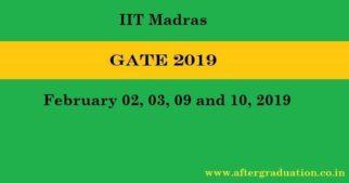 GATE 2019 Notification- Exam Schedule, Eligibility, Registration, Preparation Strategy