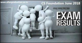 ICSI CS Foundation June 2018 Exam Result Declared, Check CS Foundation June 2018 Results and Merit List