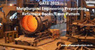 Metallurgical Engineering GATE 2019 Exam Pattern, Reference Books, Preparation Tips