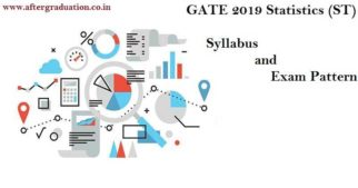 GATE 2019 Statistics (ST) Syllabus and Exam Pattern, new Subject included in GATE 2019