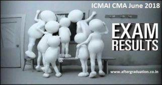 ICMAI CMA June 2018 Results - Foundation, Intermediate, Final Declared Aticmai.in