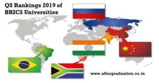 QS BRICS University Rankings2019: IIT-Bombay, IIScAmong Top 10