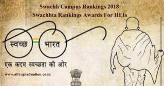 Swachh Campus Rankings 2018: Swachhta Rankings Awards For Higher Education Institutions HEIs