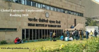 THE Global University Employability Ranking 2018: IISc, IIT Delhi in World's Top100 top Universities/Institutes in Global Employability University Rankings 2018