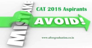 7 Mistakes CAT Aspirants Should Avoid While Appearing for CAT Exam, avoid common mistakes in management entrance exams