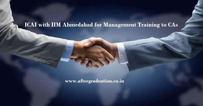 Indian Institute of Management Ahmedabad is organizing five-day residential programme'Advanced leadership programme'at its campusas management training for CAs (Chartered Accountants).
