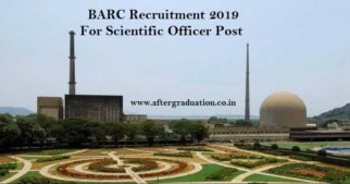 BARC Recruitment Through GATE Score For Scientific Officer Post, Recruitment in BARC for OCES and DGFS through GATE Score, BARC recruitment 2019