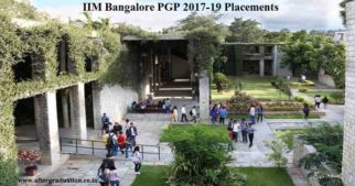 Consulting Firms Lead IIMB PGP 2019 Placements with 161 offers. IIM Bangalore PGP Class 2017-19 Placements Top Recruiters, Sectors and offers