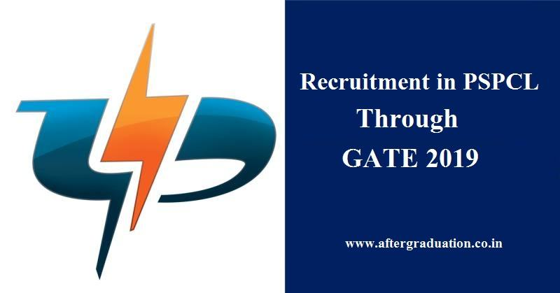 Recruitment in PSPCL Through GATE 2019. PSPCL Job Openings for AE/ OT (Civil, Electrical) and AM/IT Systems on the basis of GATE 2019 scores.Engineers job Government Jobs for engineers