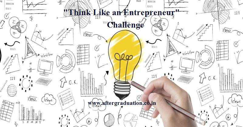 "GMAC launched Competition ""Think Like an Entrepreneur"" to encourage the undergraduate students in the US to solve a social issue"
