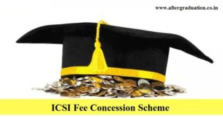 ICSI Fee Concession Scheme to Widows and Wards of Martyrs, Permanent Disability cases, Personnel of Indian Army, Indian Navy, Indian Airforce and all paramilitary forces