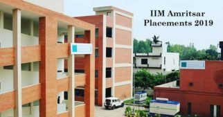 IIM Amritsar Placements 2019: 100% placement for its PGP 2017-19 batch, with substantial growth in IIM Amritsar campus placement statistics