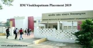 IIM Visakhapatnam Placement 2019 Offered Rs 12. 61 LPA Average Salary. IIMV achieved 100% placement for the MBA students PGP 2017-19 batch.