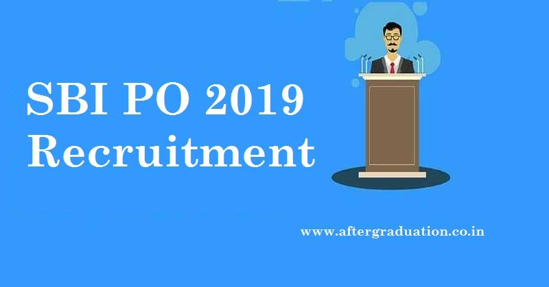 SBI PO 2019 Recruitment Examination for 2000 Probationary Officer posts. SBI PO: Exam Pattern, Application & Selection Procedure, Eligibility, results, exam pattern