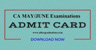 ICAIhas released the CA Examination Admit Cards for the candidates admitted to theFoundation,Intermediate (IPC),Intermediate,FinalandFinal–NewCA May/June 2019 examinationon its official website.