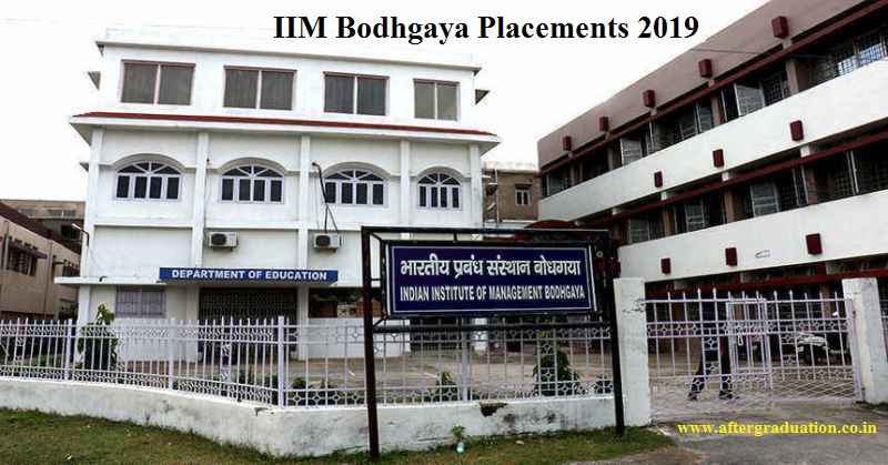 IIM Bodhgaya Placements 2019: IIM Bodhgaya has released the statistics ofthe final placement 2019 for its 3rdbatch 2017-19 highest salary dipped and the average salary goes up