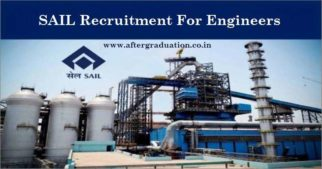 Steel Authority of India, SAIL Recruitment through GATE 2019 for 142 Management Trainee (Technical) MT post, eligibility criteria, Salary, SAIL Application and selection process, Engineering Jobs