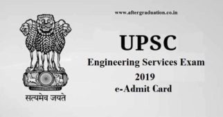 UPSC IES 2019 admit card: The Union Public Service Commission (UPSC) released the e-admit card for the Indian Engineering Services (IES) Mains Exam 2019, scheduled to be conducted on June 30, 2019 (Sunday)