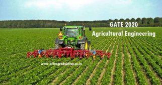 GATE 2020 aspirants in Agricultural Engineering must know GATE AG 2020 syllabus, Best books to study, GATE Exam Pattern & preparation tips, Guidance for better GATE Score