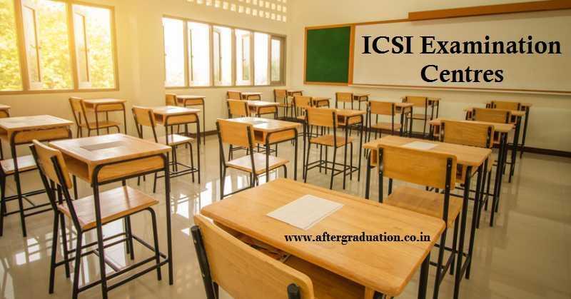 ICSI Regionwise Examination Centres for June 2020 Company Secretaries Examination, New Centres for ICSI June 2020 exams, CS June Exam Centres, How to edit CS Exam centre