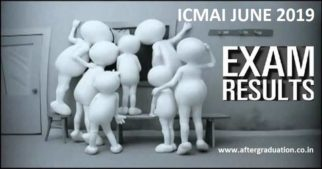 ICMAI June 2019 Results:The Institute of Cost Accountants of India (ICMAI) has announced the CMA June 2019 Results for Foundation, Intermediate and Final Courses today on August 23, 2019. The results are available to the students online on the result portals of the institute i.e. examicmai.in and examicmai.org.
