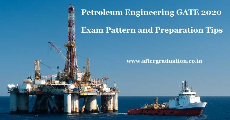 Petroleum Engineering GATE 2020 Exam Pattern and Preparation Tips, Candidates appearing for Petroleum Engineering (PE) subject in GATE 2020 must know GATE 2020 Petroleum Engineering Syllabus, Best reference books to study, GATE 2020 Exam Pattern and preparation tips of the subject for better GATE score
