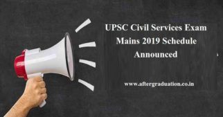 UPSC CSE Mains 2019 Schedule: The Union Public Service Commission (UPSC) has released the examination schedule for the Civil Services Exam (CSE) Mains 2019. Those candidates who have cleared the UPSC CSE Preliminary Exam 2019, conducted on June 02, 2019, are eligible to appear for the Mains exam to begin from September 20.