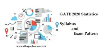GATE 2020 Statistics Subject Syllabus & Exam Pattern. Check out detailed syallbus of GATE Statistics (ST) paper 2020, GATE ST Exam pattern released by IIT Delhi for better GATE 2020 ST Score