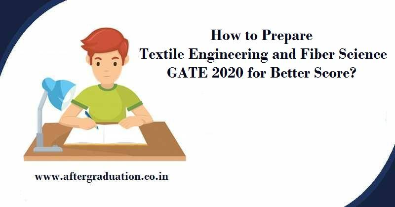 How to Prepare Textile Engineering and Fiber Science GATE 2020 for Better Score, GATE 2020 TF syllabus, Best reference books to study TF for GATE Exam, Textile Engineering and Fiber Science GATE 2020ExamPattern and preparation strategy and guidance to have betterGATE score.