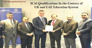 UK NARIC Evaluates ICAI Qualifications at Par With UG, PG Degrees in UK and UAE. The ICAI CA Intermediate and CA Final qualification will now be considered equivalent to an Undergraduate and Master's level degree in the UK and UAE Education System.