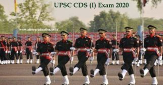 Union Public Service Commission (UPSC) has released the notification for the Combined Defence Services (CDS) I, 2020 exam at its official website for a total of 418 vacancies. Aspirants can check UPSC CDS 2020 exam (I) eligibility, application process, exam pattern, selection process, number of vacancies and other details.