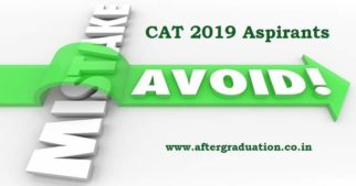 MBA Aspirants Must Avoid Mistakes While Appearing for CAT 2019 Exam, Common Mistakes While Appearing For CAT 2019 Exam. last week preparation strategy for MBA Entrance exam, Tips and Tricks for CAT 2019