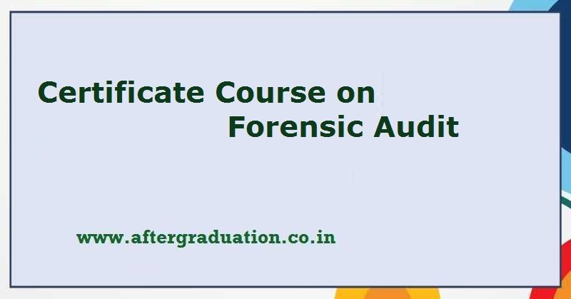 Certificate Course on Forensic Audit, Online Registration Begins for ICSI Certificate Course on Forensic Audit, ICSI along with KPMG conducting Online certificate course on Forensic Audit