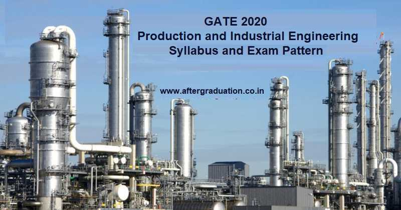 GATE 2020 Production and Industrial Engineering aspirants must know proper GATE Production and Industrial Engineering (PI) syllabus and GATE PI exam pattern for better GATE Score in exam to be held on 1 Feb 2020 afternoon session