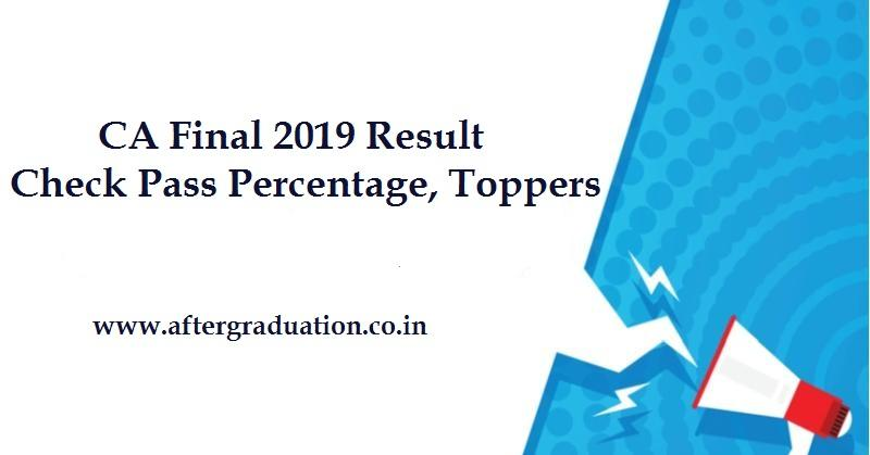 ICAI CA Final Nov 2019 Result: Check Here for ICAI Pass Percentage, Toppers in CA Final Old and New Course November Exam, ISA-AT Dec 2019 exam results