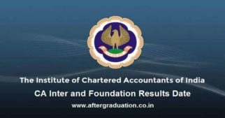 The Chartered Accountants, CA Inter and Foundation results date announced for Nov 2019 exam session. CA Intermediate (old and New Course) and CA Foundation results will be declared on February 03 or Feb 04,2020