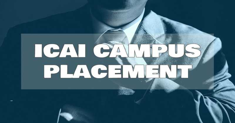ICAI Campus Placements Aug-Sept 2017 recruitment for new qualified CA