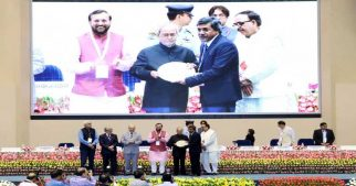IIM Bangalore Awarded for Massive Open Online Courses (MOOCs) by President of India Shri Pranab Mukherjee