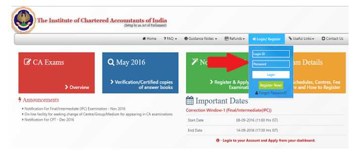 CA Intermediate (IPC) and Final November 2017 Examination Admit Cards Released