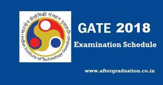 GATE 2018 Examination Schedule Released, GATE 2018 Examination pattern and other details Check Now