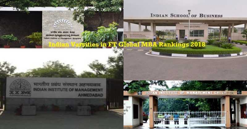 Financial Times Global MBA Ranking 2018: Stanford Gets Top Spot, ISB, IIM Ahmedabad slips